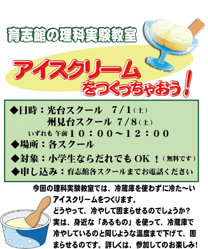 アイスクリームをつくっちゃおう2